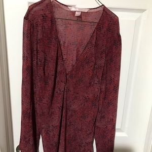 NWOT Victoria Secret Size L Tunic  💯 Polyester
